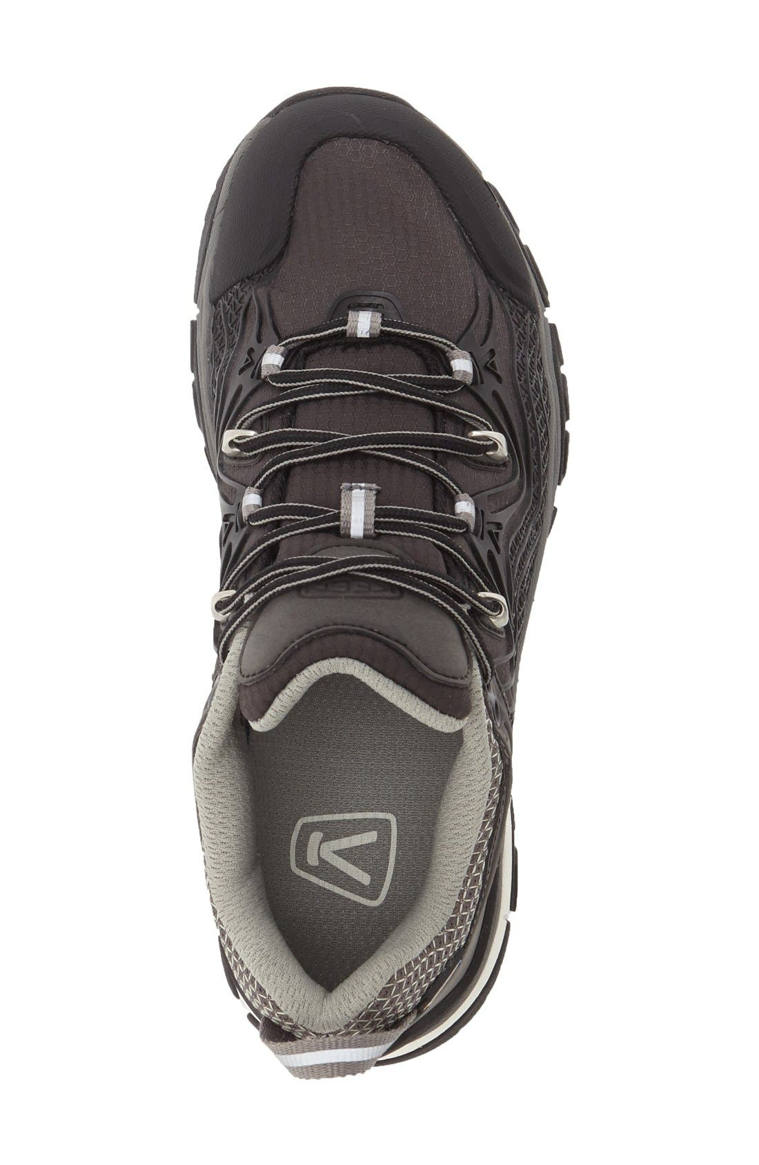 'Aphlex' Waterproof Hiking Boot,                             Alternate thumbnail 3, color,                             Black/ Gargoyle