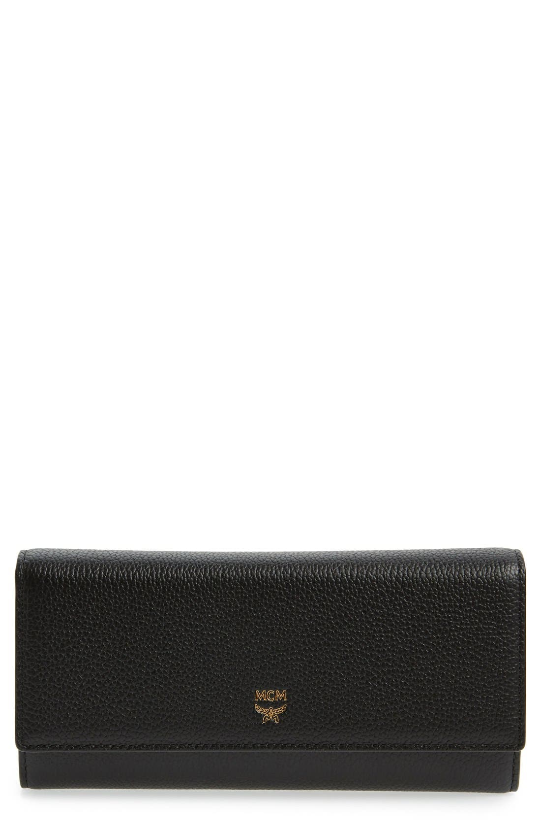 MCM Milla Leather Continental Wallet