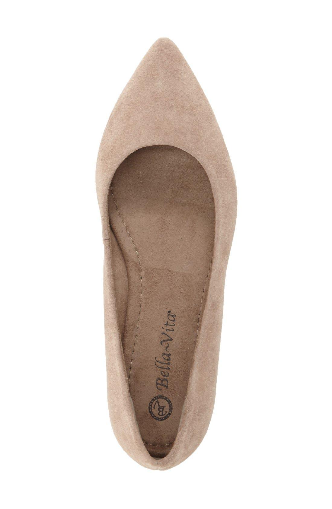 Alternate Image 3  - Bella Vita 'Vivien' Pointy Toe Flat (Women)