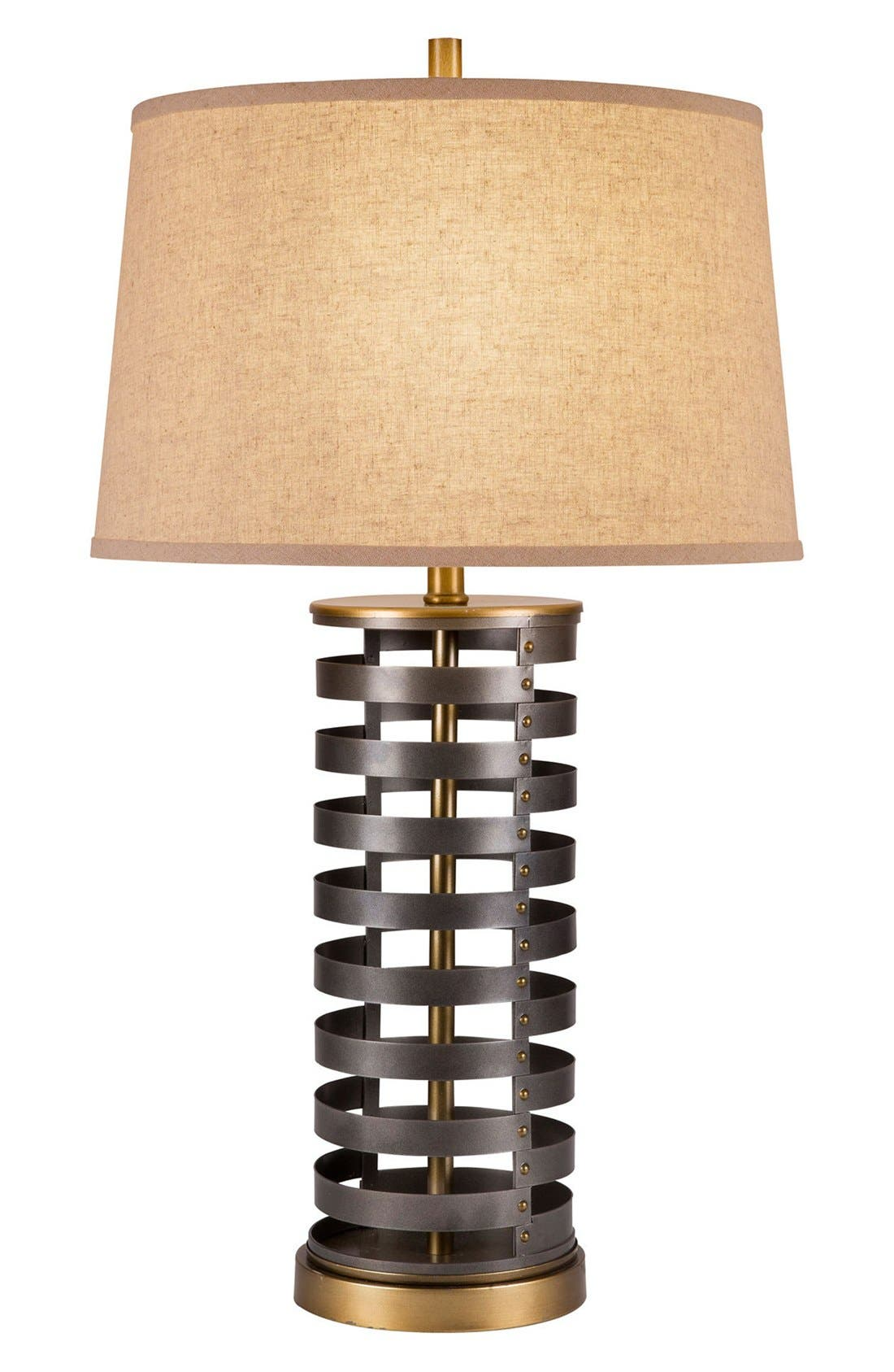 Alternate Image 1 Selected - JAlexander 'Stacked Disc' Table Lamp