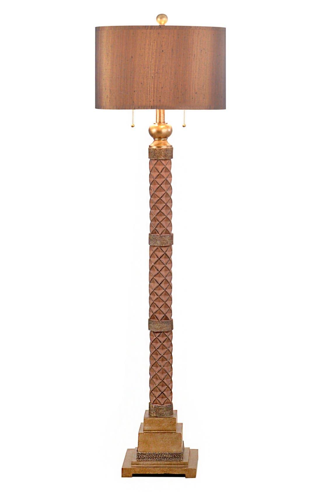 JAlexander Faceted Floor Lamp,                         Main,                         color, Brown