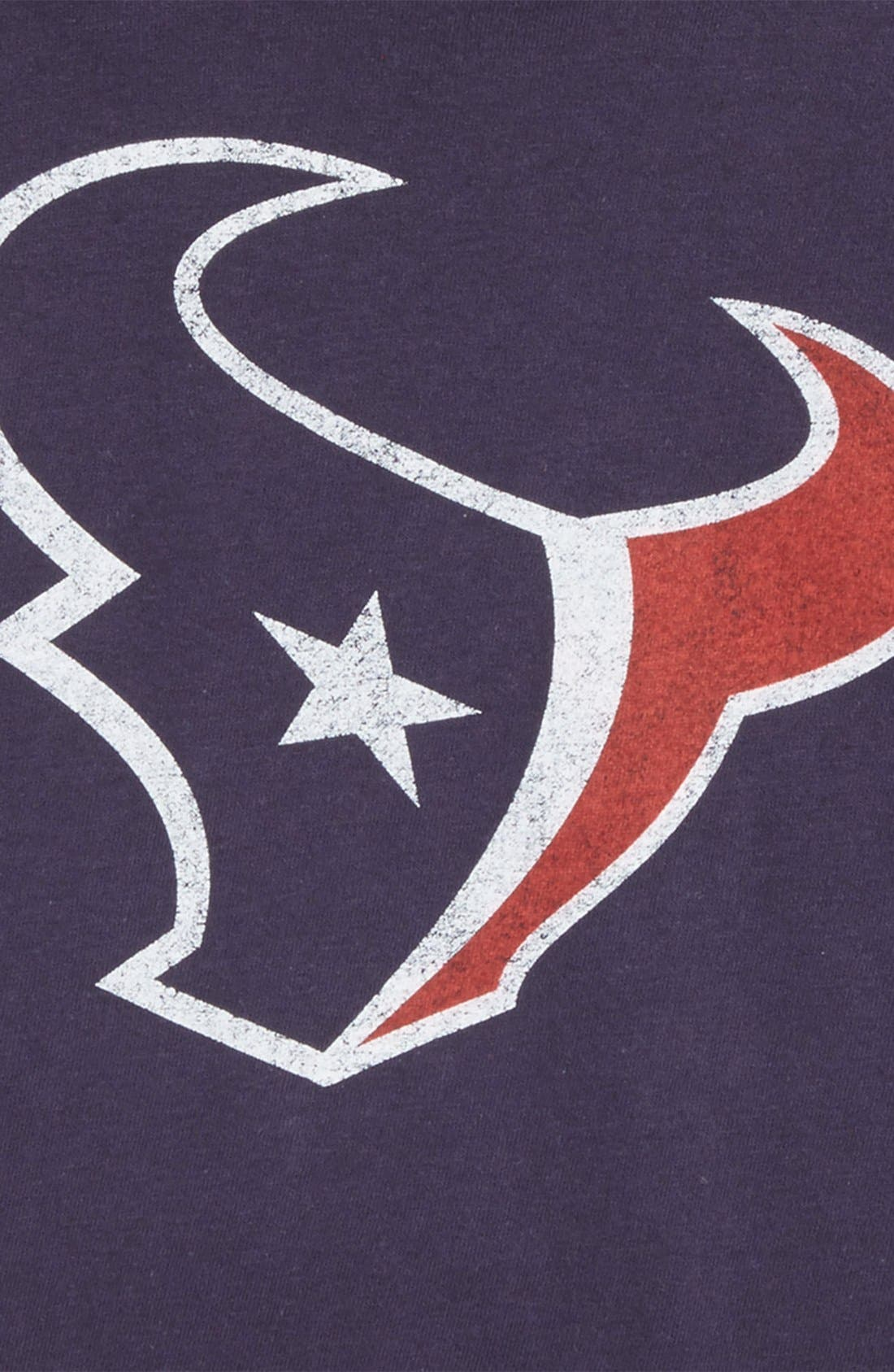 Alternate Image 2  - Outerstuff 'NFL - Houston Texans' Distressed Logo Graphic T-Shirt (Little Boys)