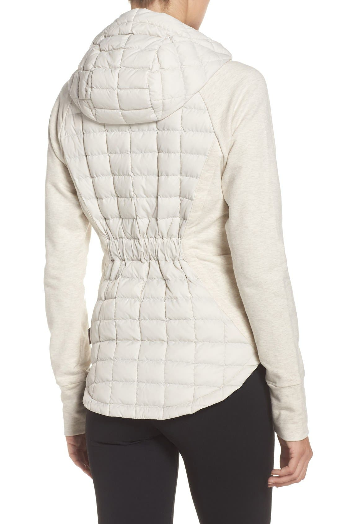 'Endeavor' ThermoBall PrimaLoft<sup>®</sup> Quilted Jacket,                             Alternate thumbnail 2, color,                             Moonlight Ivory/ Ivory White