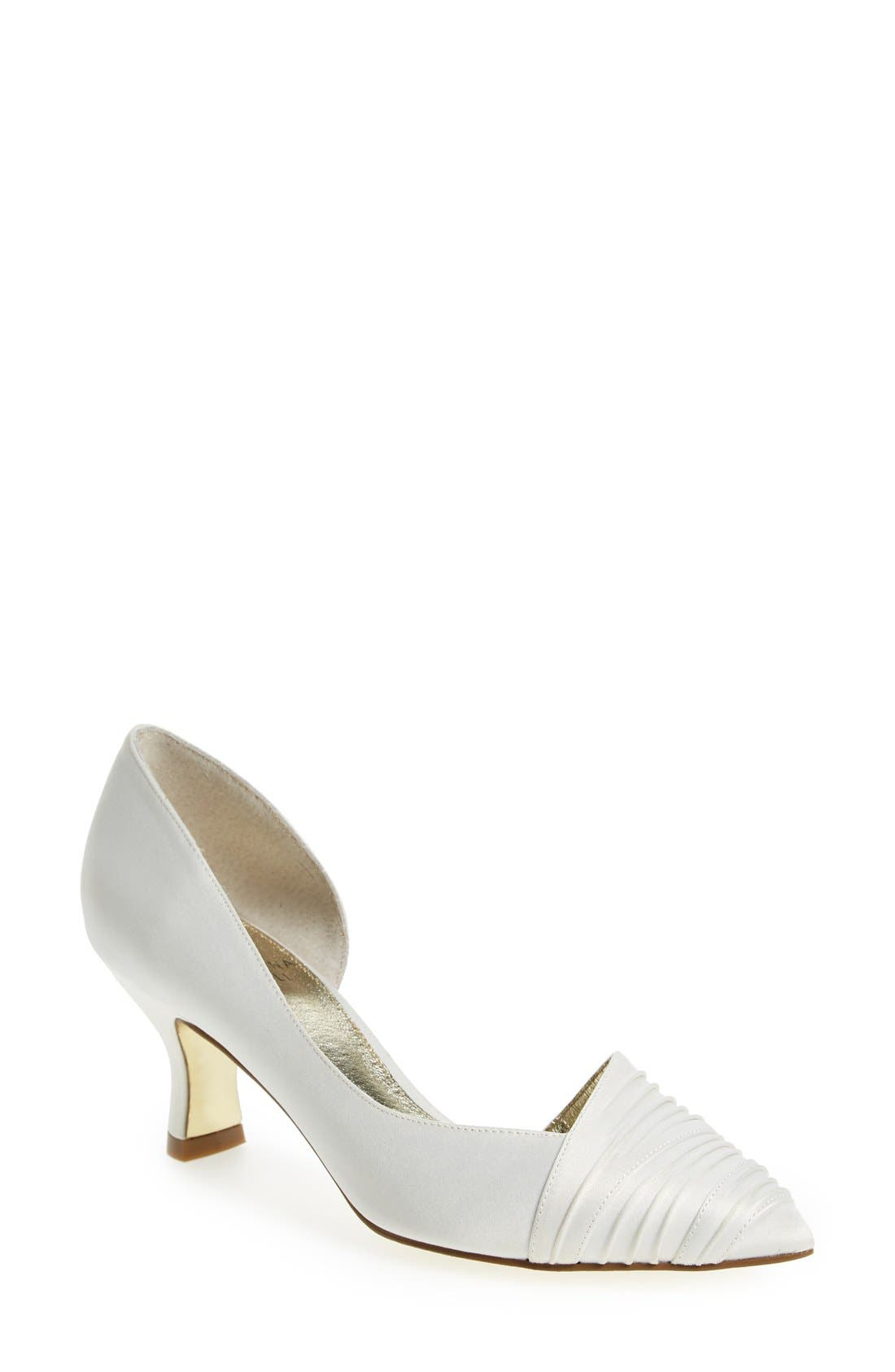 Alternate Image 1 Selected - Adrianna Papell 'Harriet' Half d'Orsay Pump (Women)