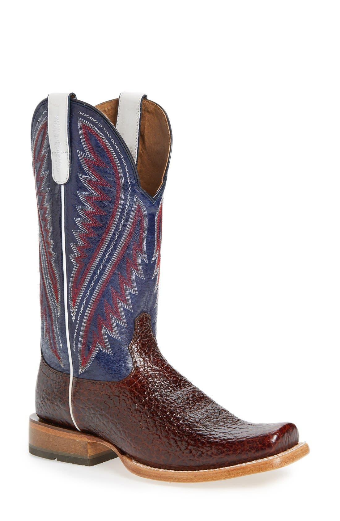 Alternate Image 1 Selected - Ariat 'Hoolihan' Cowboy Boot (Men)