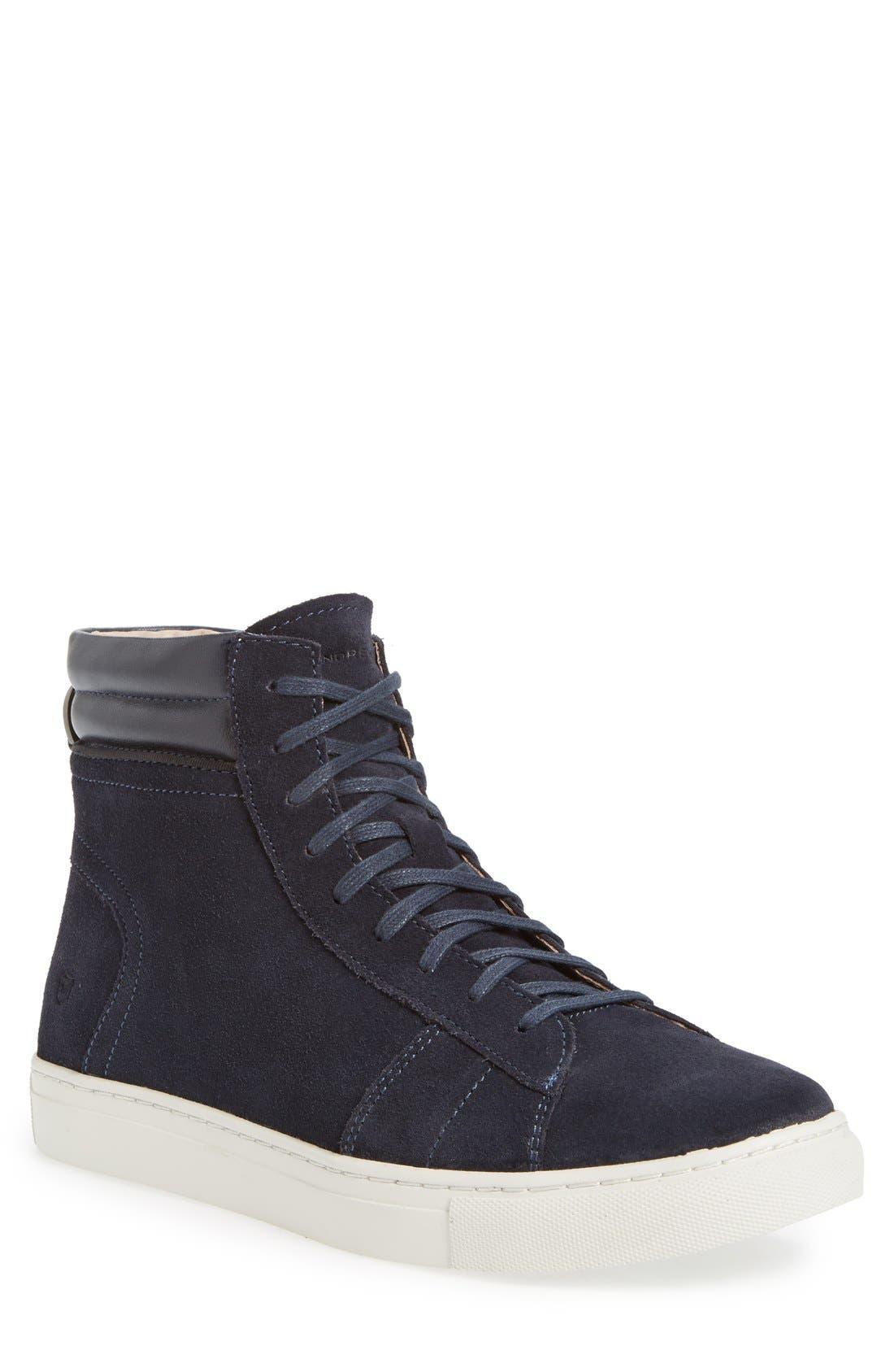 Andrew Marc 'Remsen' High Top Sneaker (Men)