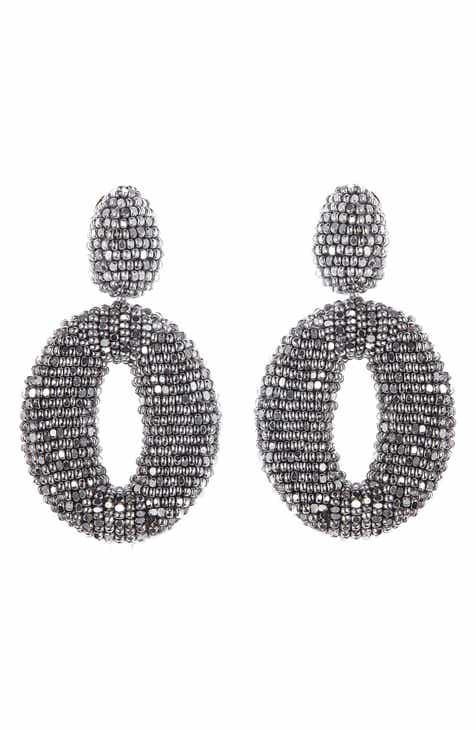 her on clip earrings with jewellery buy embellished swarovski crystals ae from silver flower