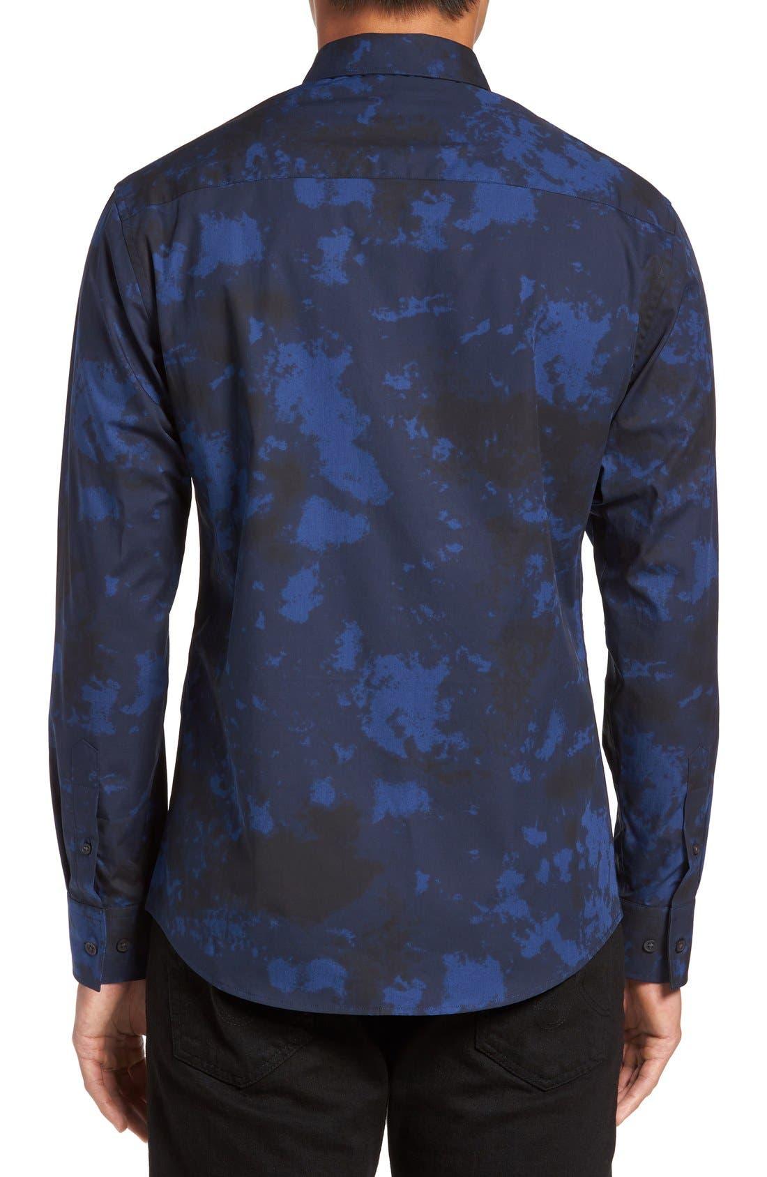 Alternate Image 2  - Vince Camuto Slim Fit Sport Shirt