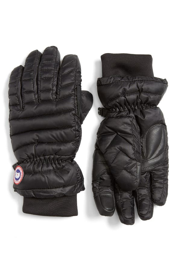 Canada Goose Quilted Down Gloves