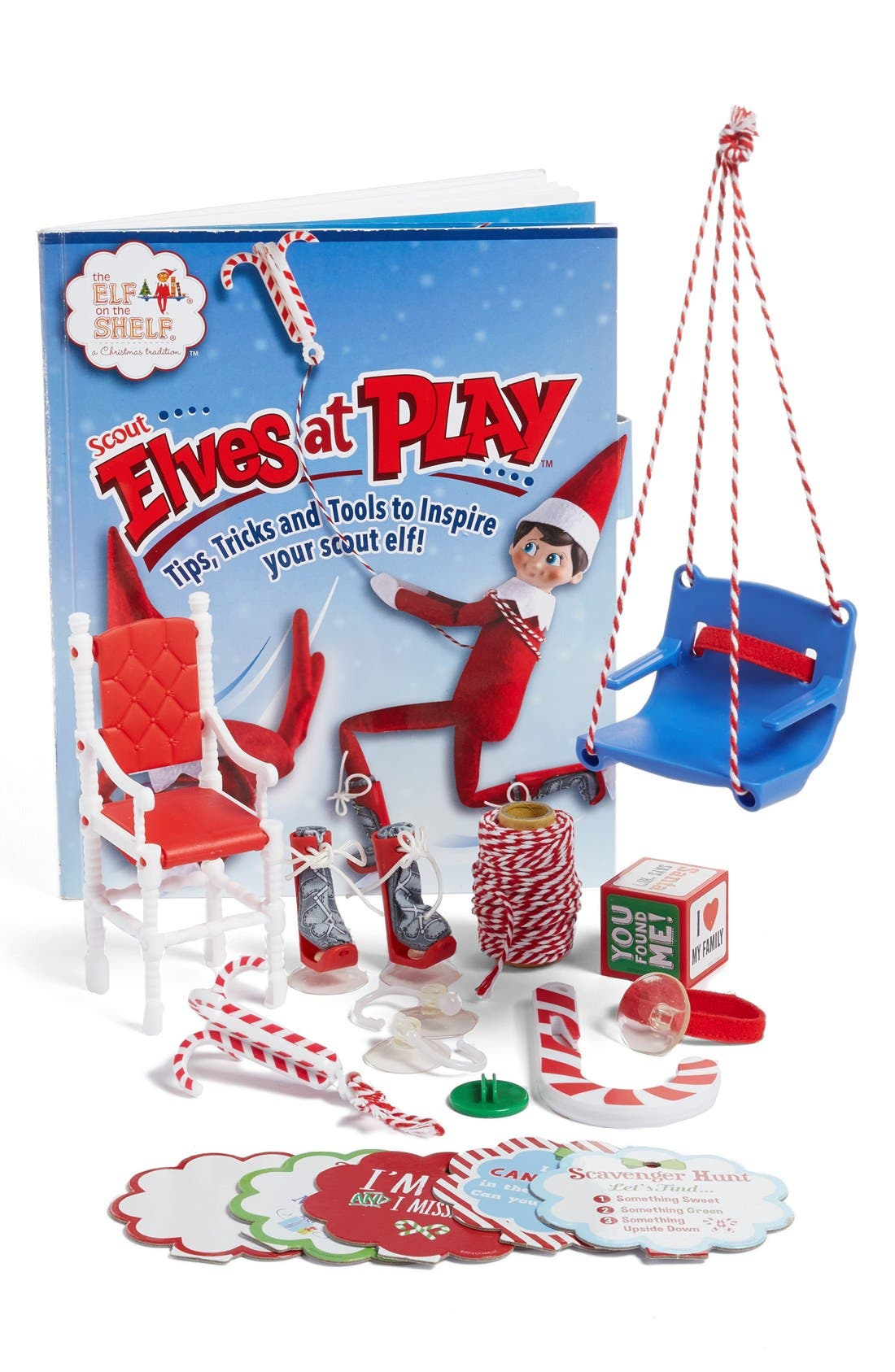 Scout Elves at Play Kit,                         Main,                         color, Red