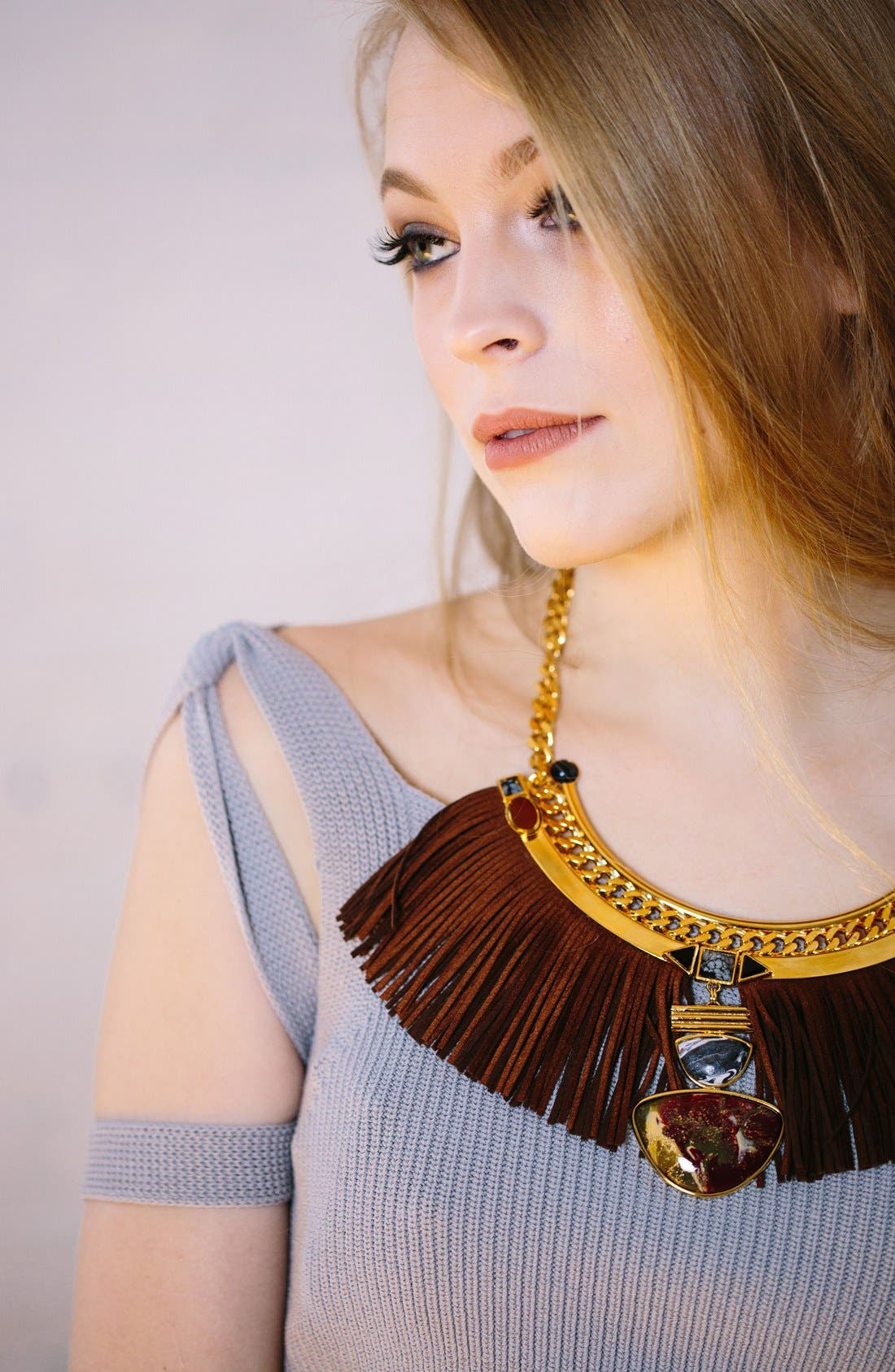Alternate Image 3  - Natalie Waldman Hula Collar Necklace