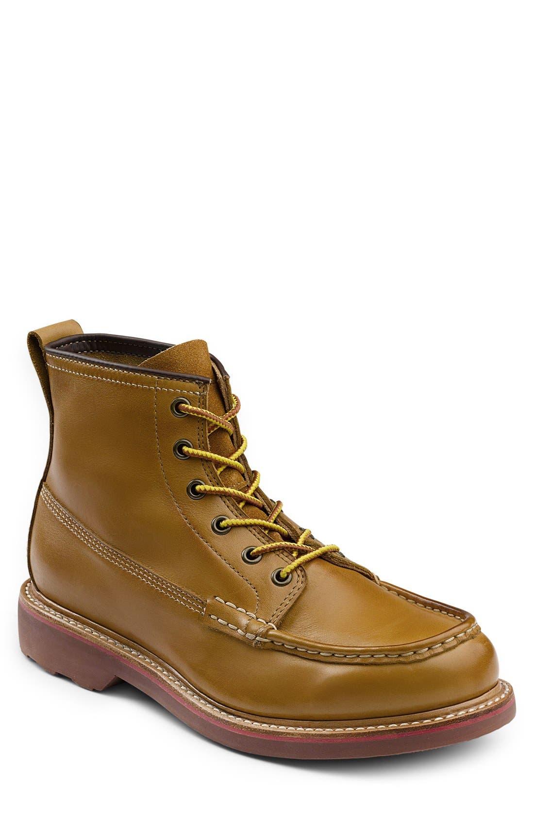 G.H. Bass & Co. 'Ashby' Moc Toe Boot (Men)