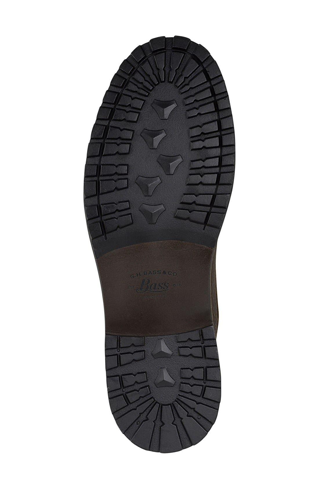 Alternate Image 4  - G.H. Bass & Co. 'Brigg' Plain Toe Boot (Men)