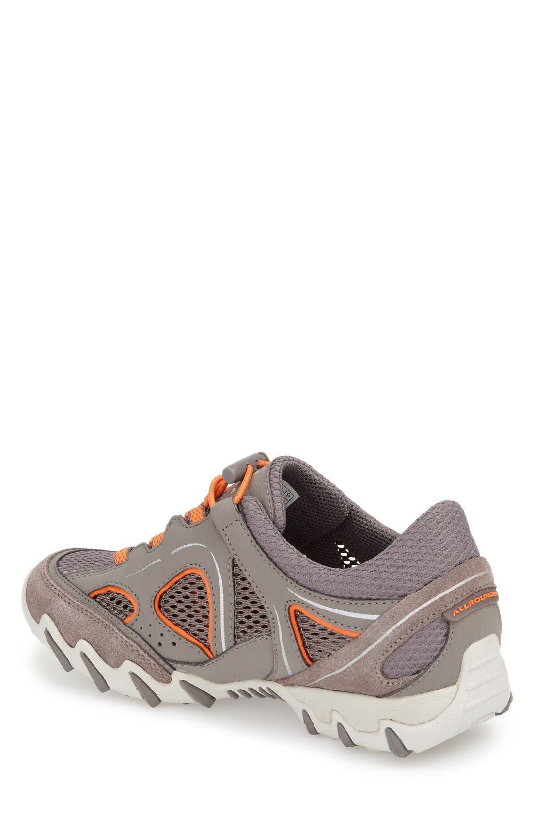 'Natal' Sneaker,                             Alternate thumbnail 2, color,                             Grigio Suede