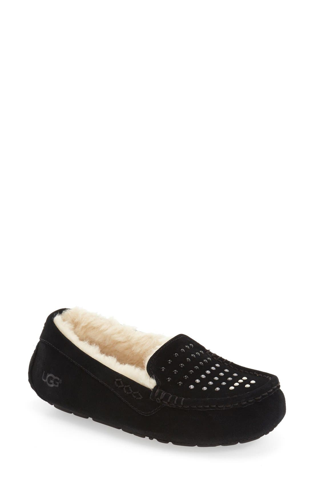 Main Image - UGG® 'Ansley' Water Resistant Slipper (Women)