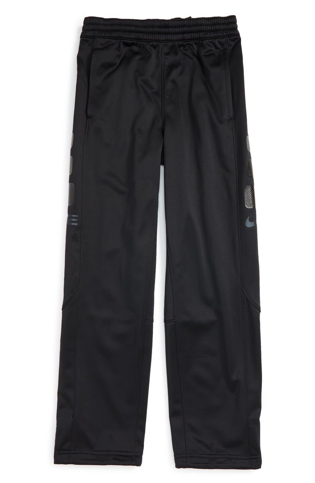 Alternate Image 1 Selected - Nike 'Elite' Therma-FIT Pants (Little Boys & Big Boys)