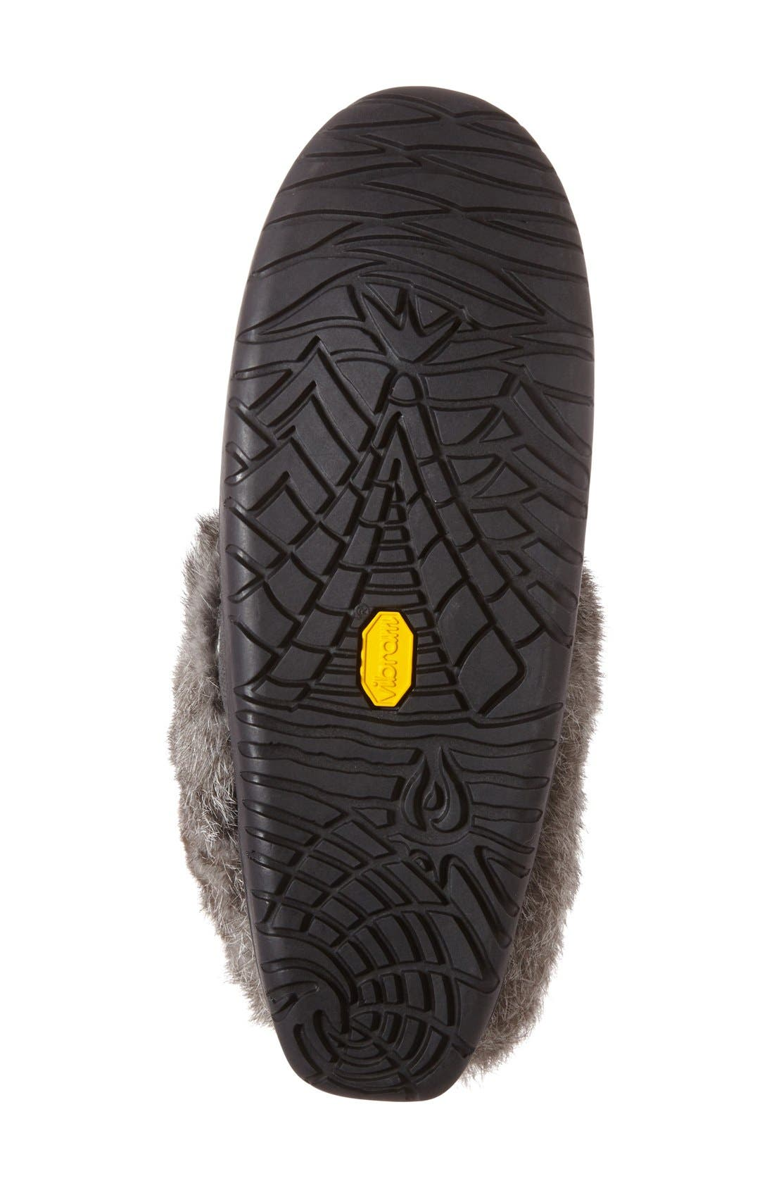 Alternate Image 4  - Manitobah Mukluks 'Keewatin' Genuine Shearling and Rabbit Fur Boot (Women)