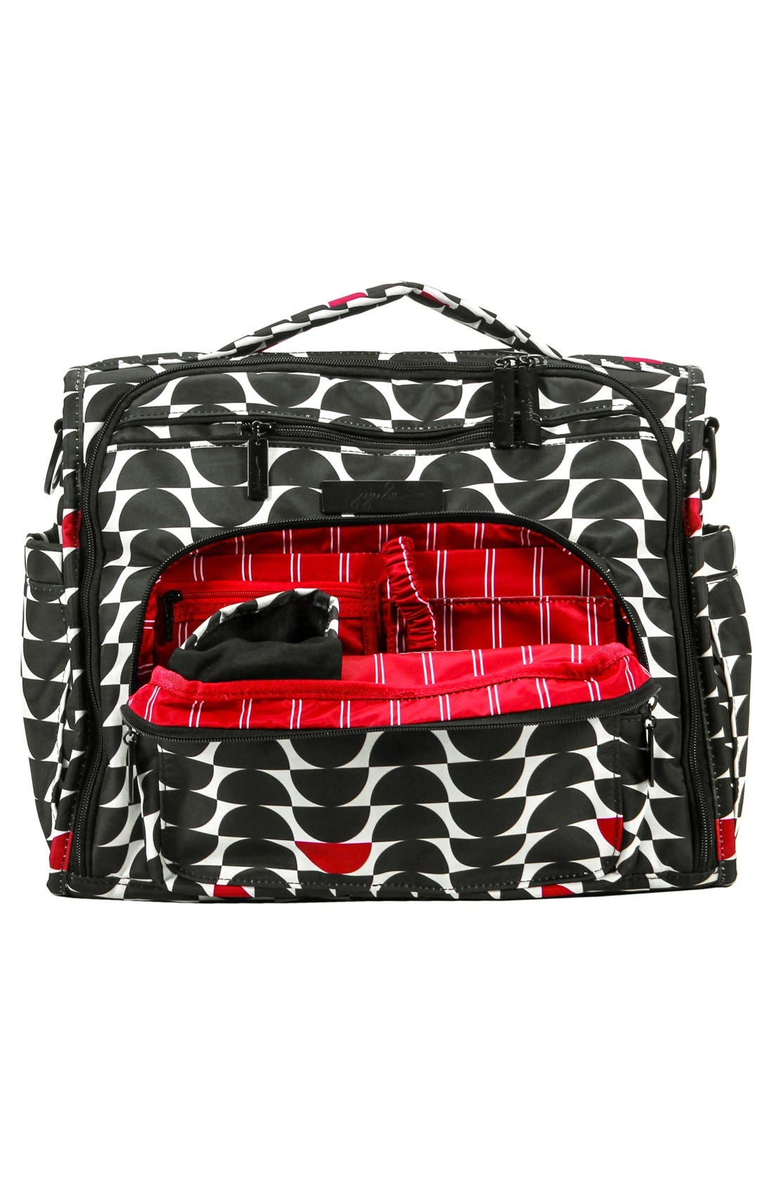 'HoboBe' Diaper Bag,                             Alternate thumbnail 2, color,                             Black Widow