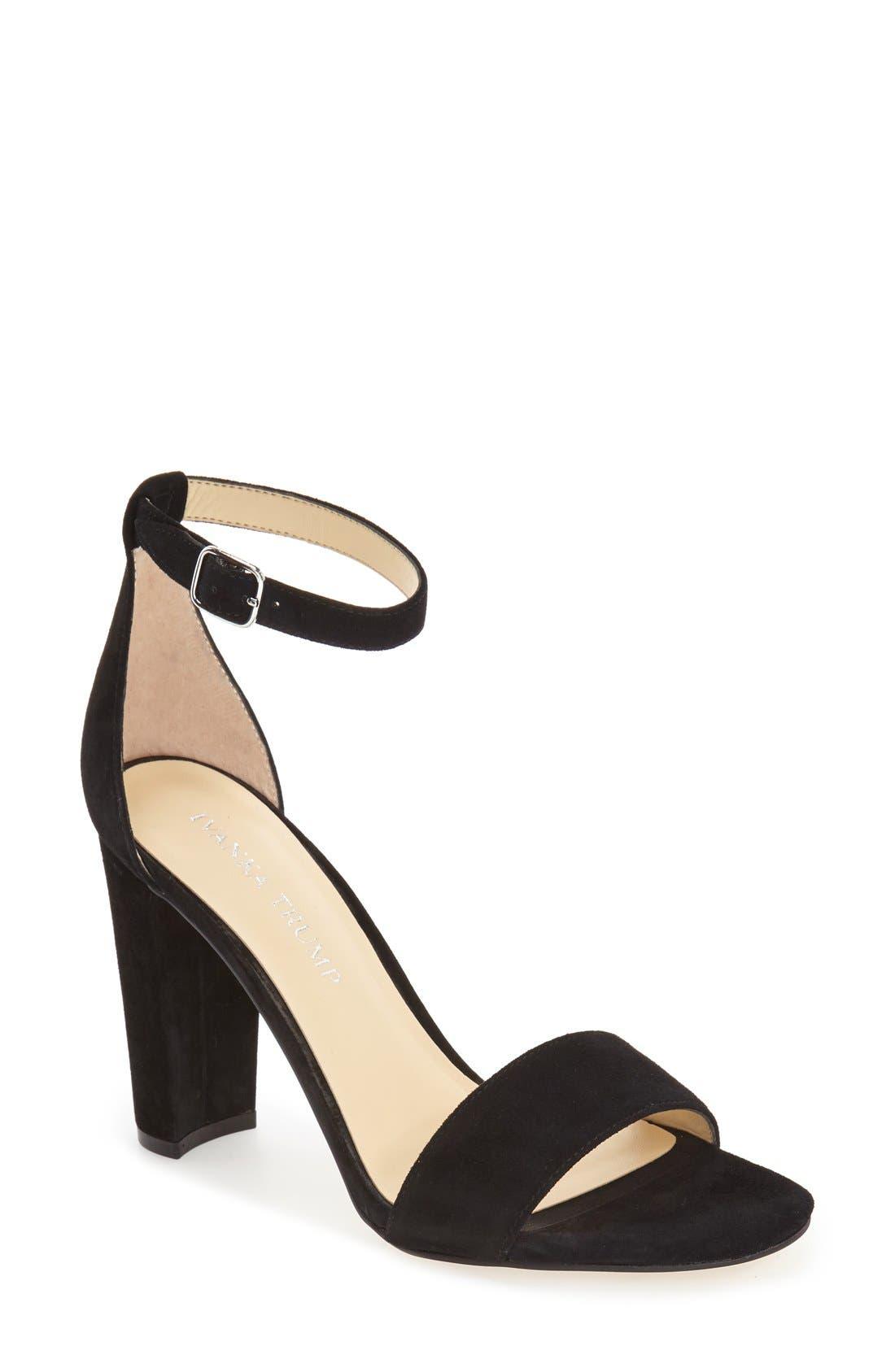 Main Image - Ivanka Trump 'Emalyn' Block Heel Sandal ...