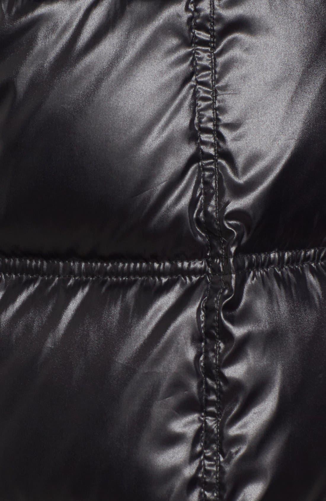 Alternate Image 5  - Via Spiga Quilted Coat with Faux Fur Trim