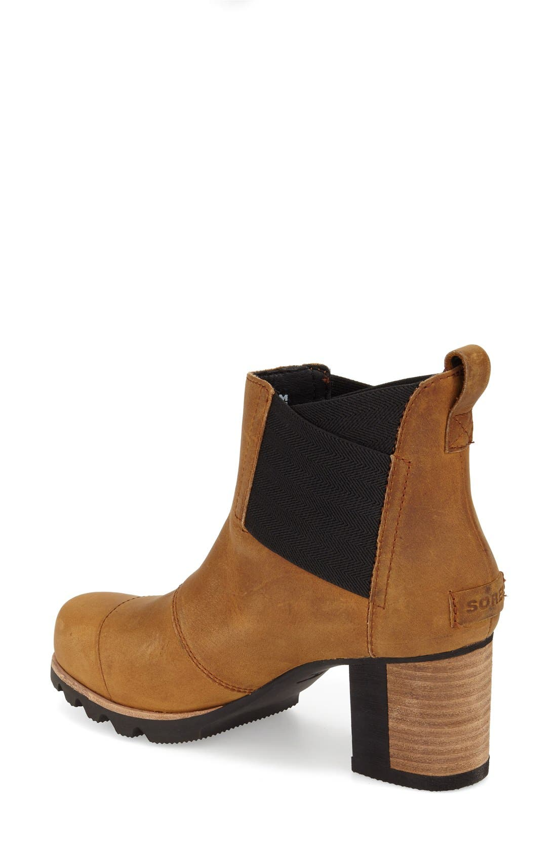 'Addington' Waterproof Chelsea Boot,                             Alternate thumbnail 2, color,                             Autumn Bronze