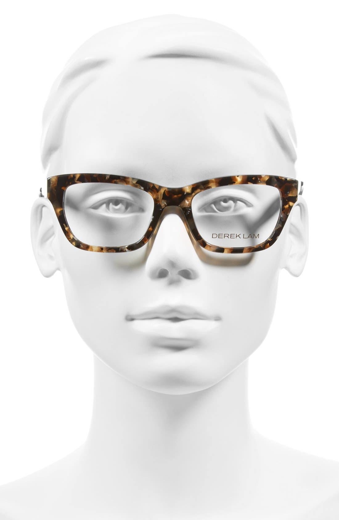 50mm Optical Glasses,                             Alternate thumbnail 2, color,                             Brown Marble