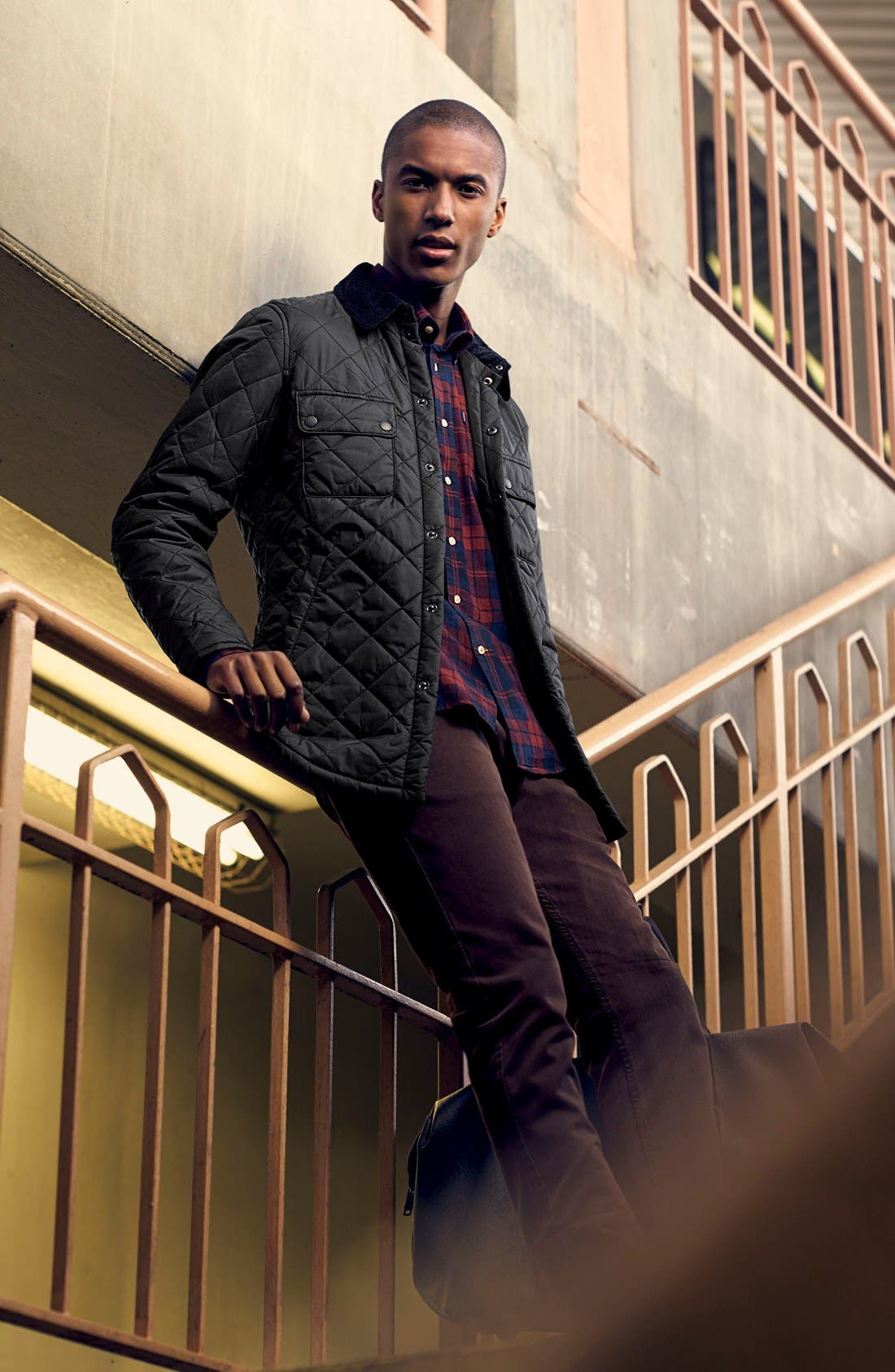 Alternate Image 9  - Barbour 'Akenside' Regular Fit Quilted Jacket