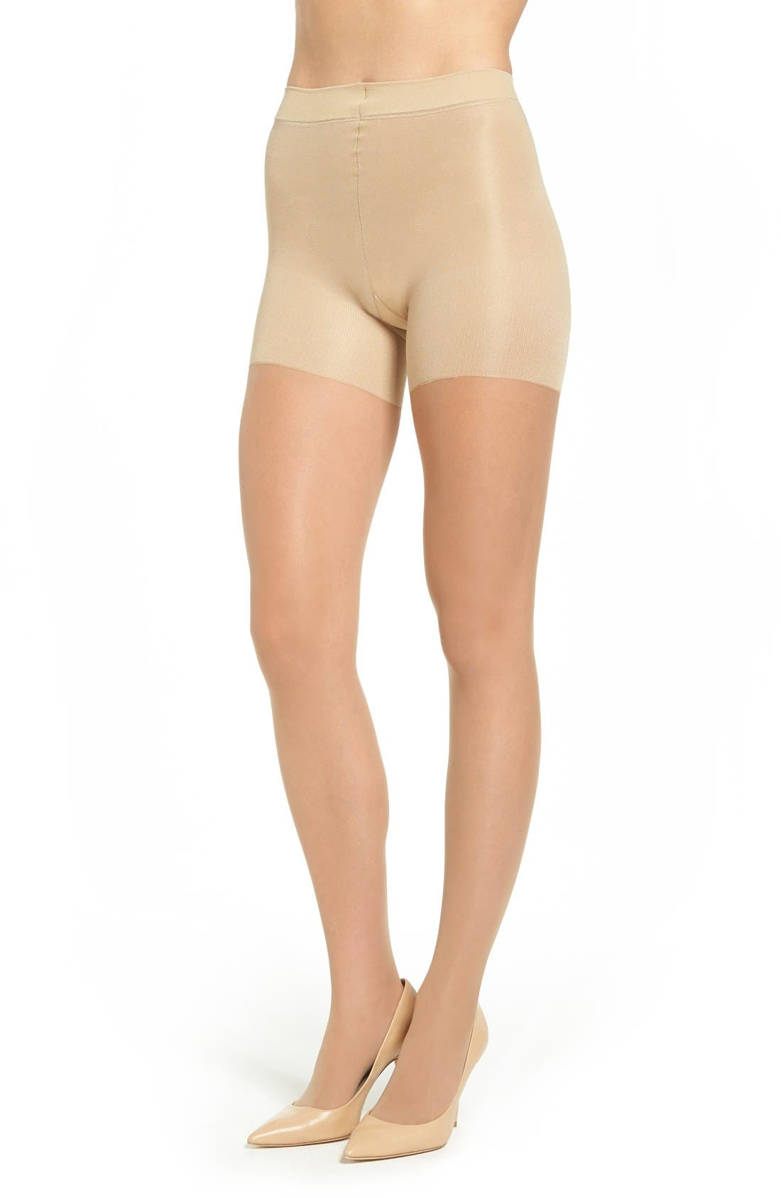 Alternate Image 1 Selected - SPANX® Leg Support Sheers (Regular & Plus Size)