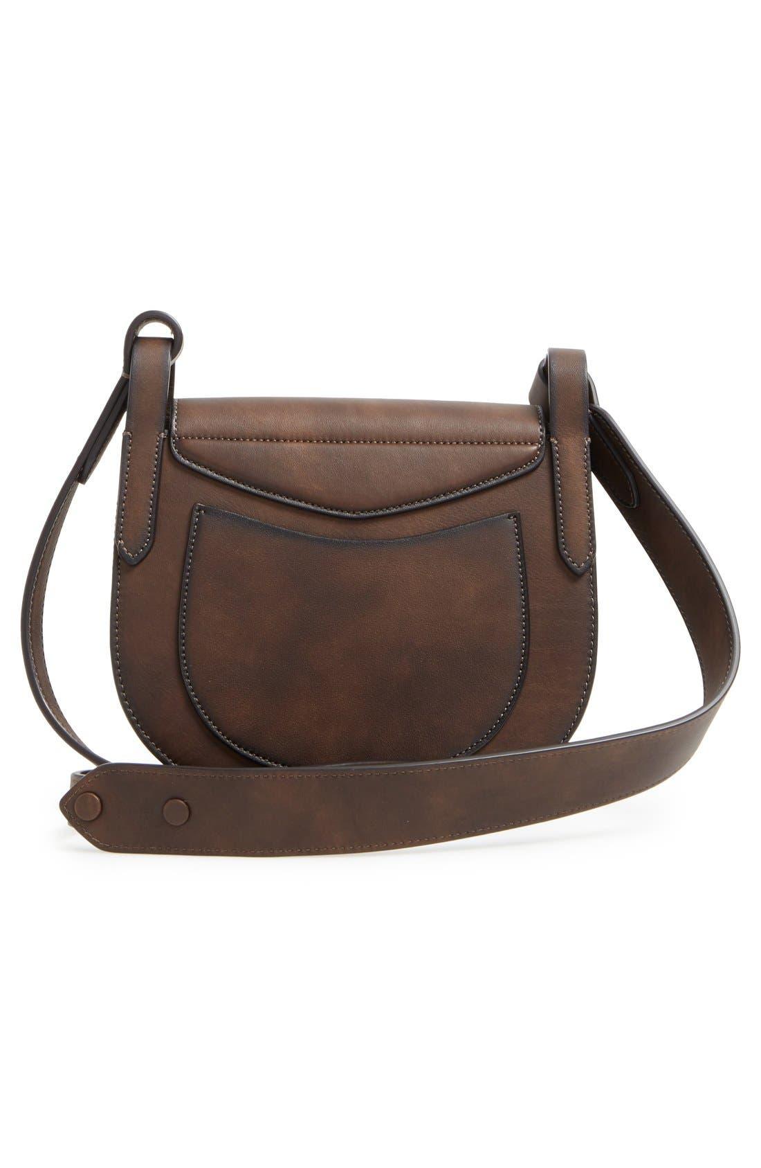Alternate Image 3  - Michael Kors 'Daria' Leather Saddle Bag