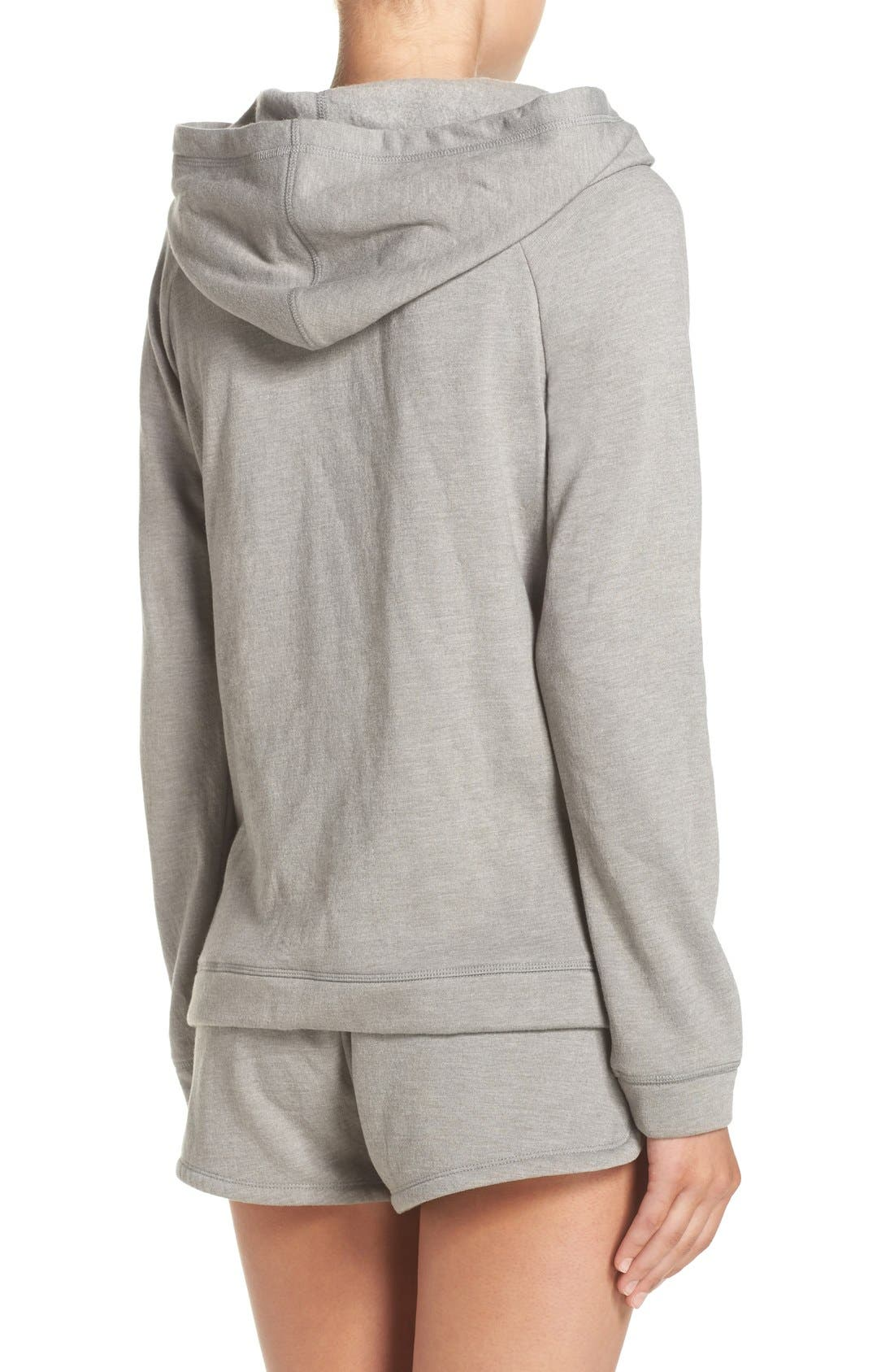 Alternate Image 2  - Lucky Brand Fleece Hoodie