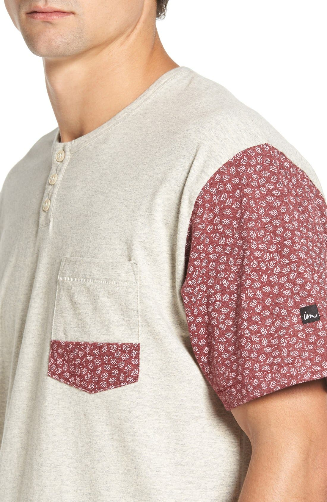 Alternate Image 4  - Imperial Motion 'Harper' Short Sleeve Pocket Henley T-Shirt