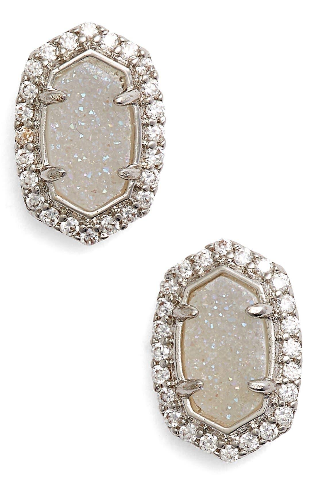 Alternate Image 1 Selected - Kendra Scott 'Cade' Drusy Stud Earrings