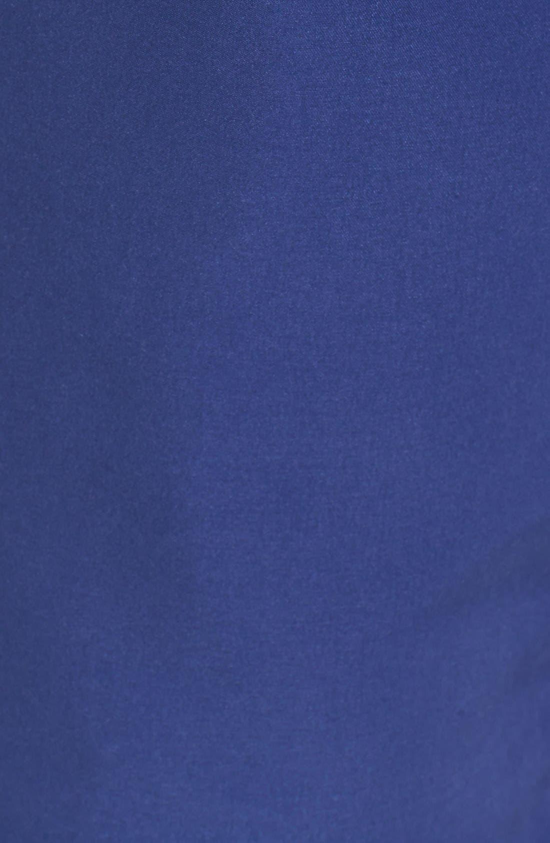 Solid Swim Trunks,                             Alternate thumbnail 5, color,                             Twilight Blue