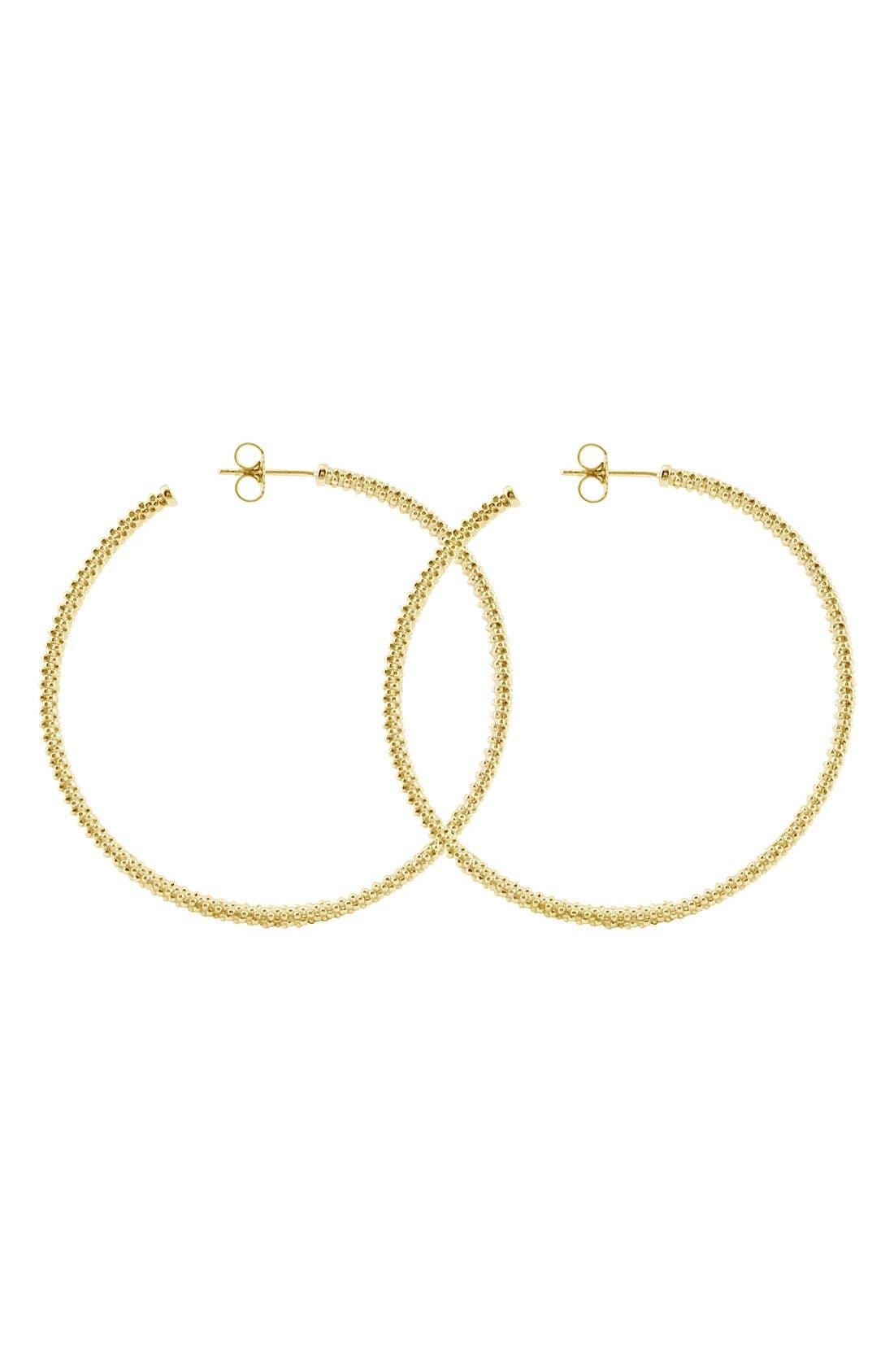 LAGOS 18K Large Hoop Earrings