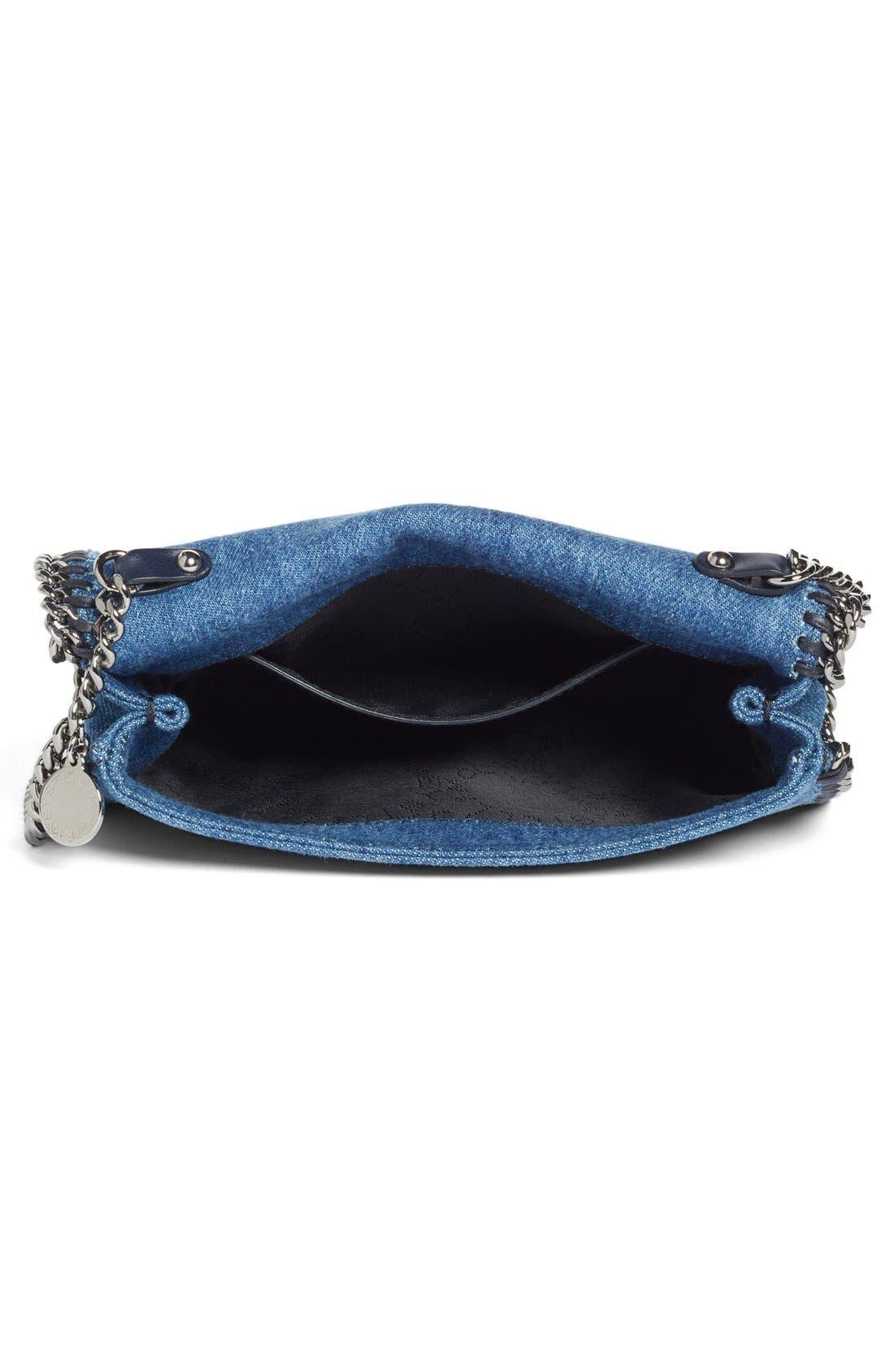 Alternate Image 3  - Stella McCartney Embroidered Denim Shoulder Bag