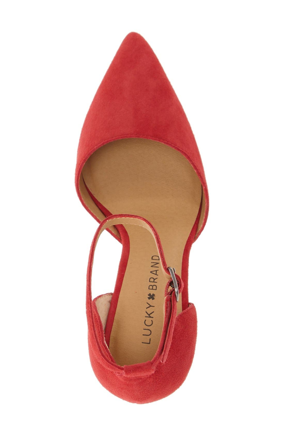 Alternate Image 3  - Lucky Brand 'Tukko' d'Orsay Ankle Strap Pump (Women)