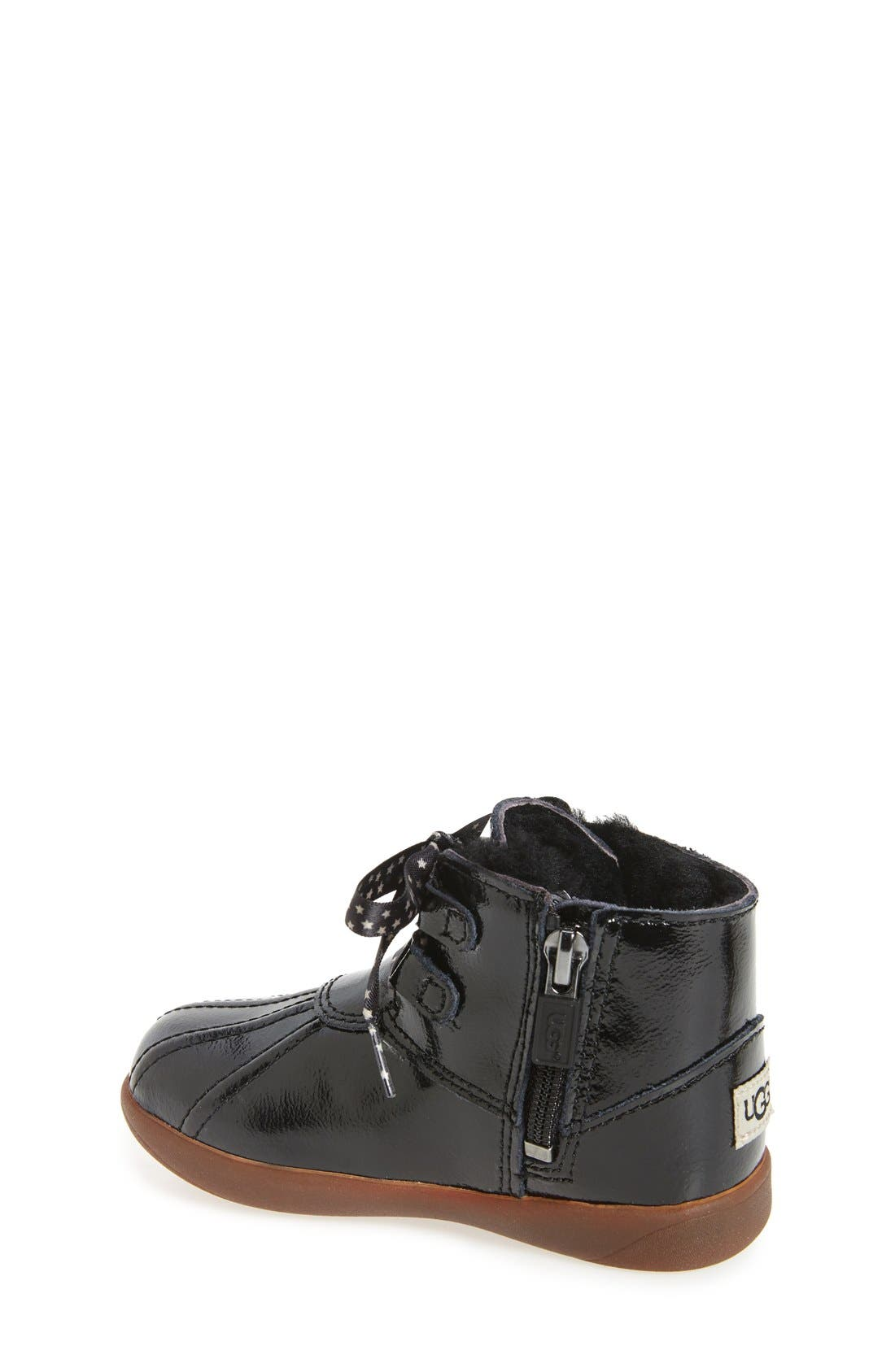Payten Boot,                             Alternate thumbnail 2, color,                             Black Patent Leather