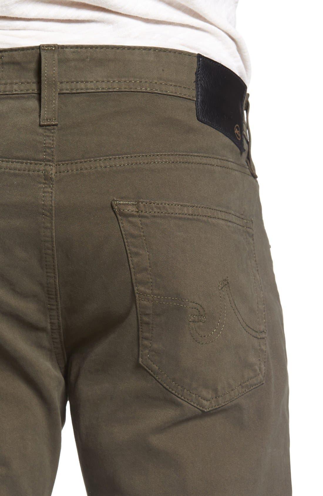 Alternate Image 4  - AG Dylan Slim Fit Pants