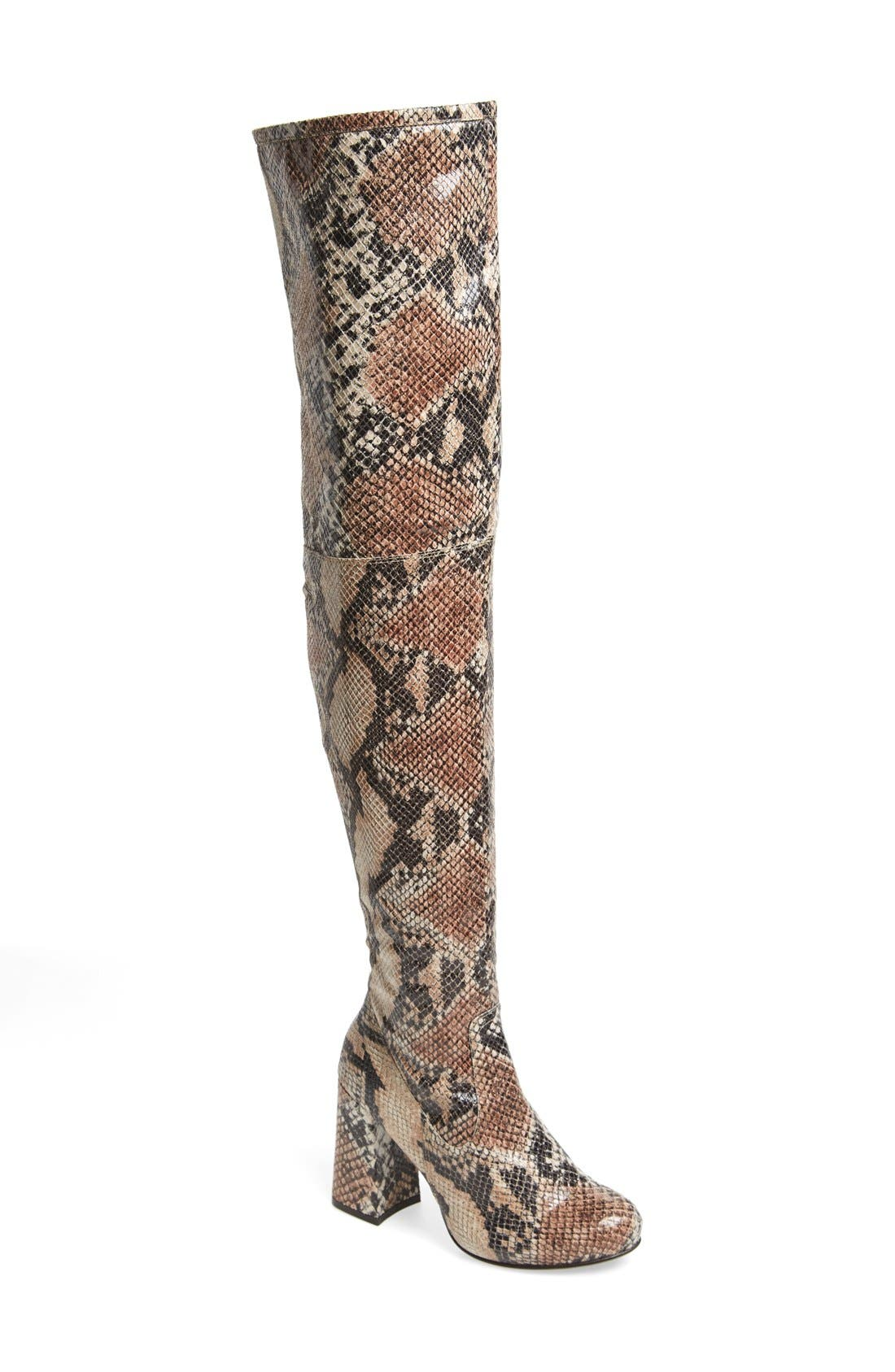 Alternate Image 1 Selected - Shellys London 'Kay' Over the Knee Boot (Women)