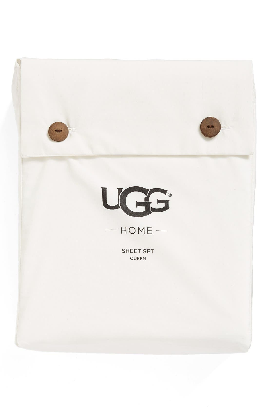 ugg home sheet set