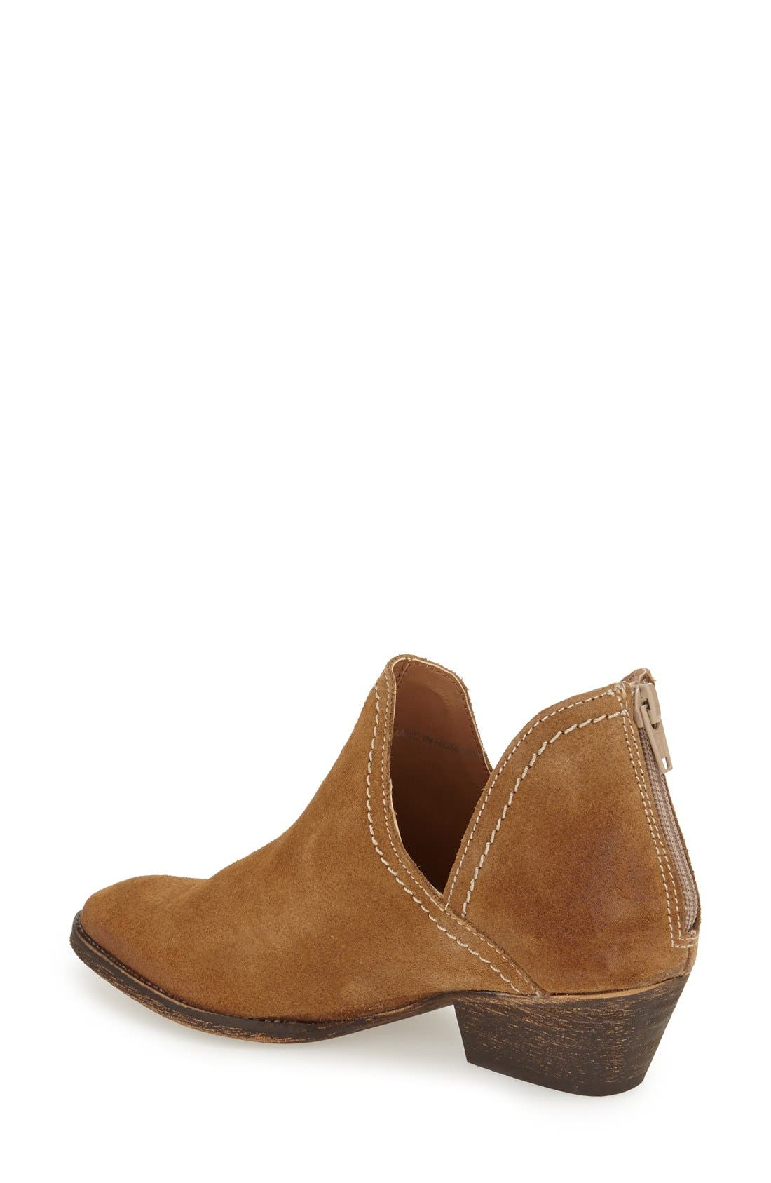 'Bai' Bootie,                             Alternate thumbnail 2, color,                             Tobacco Suede