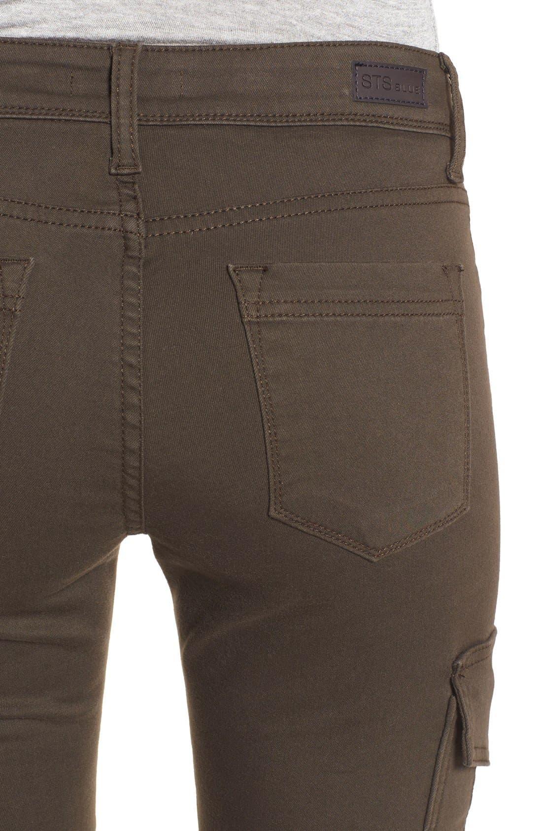 Alternate Image 5  - STS Blue Cargo Pocket Skinny Pants