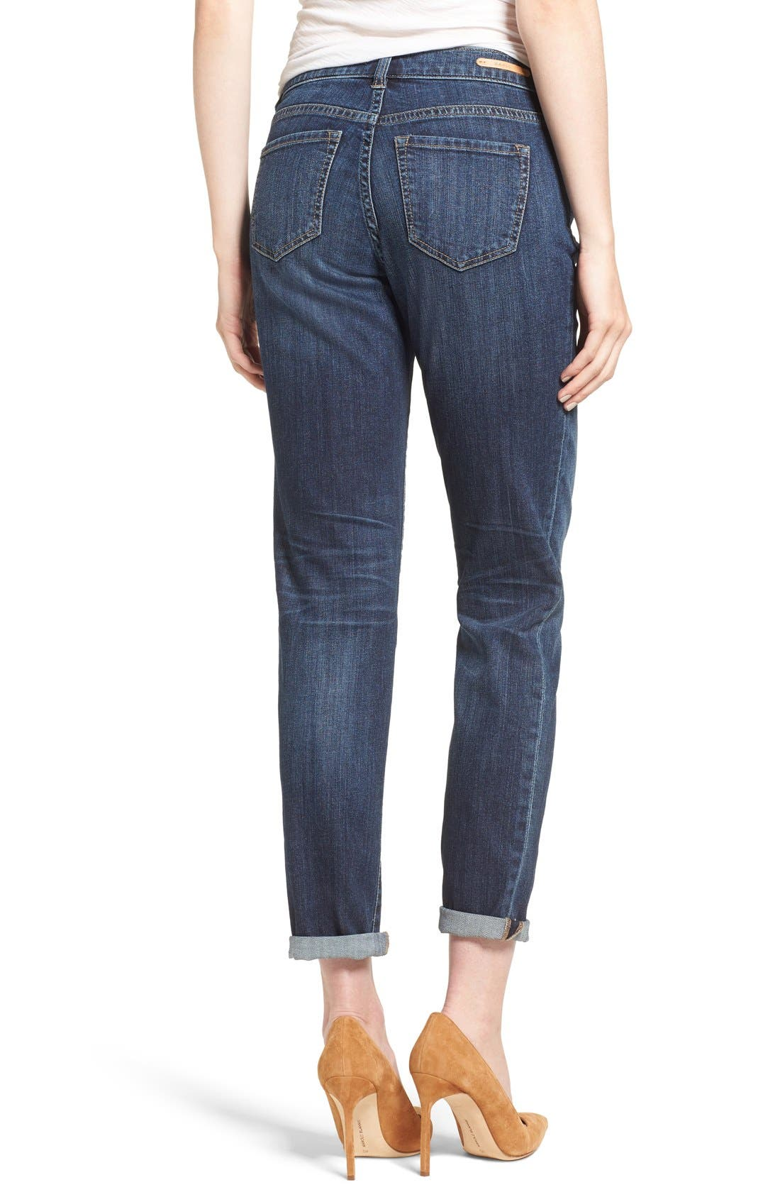 Boyfriend Jeans,                             Alternate thumbnail 2, color,                             Mirage Wash