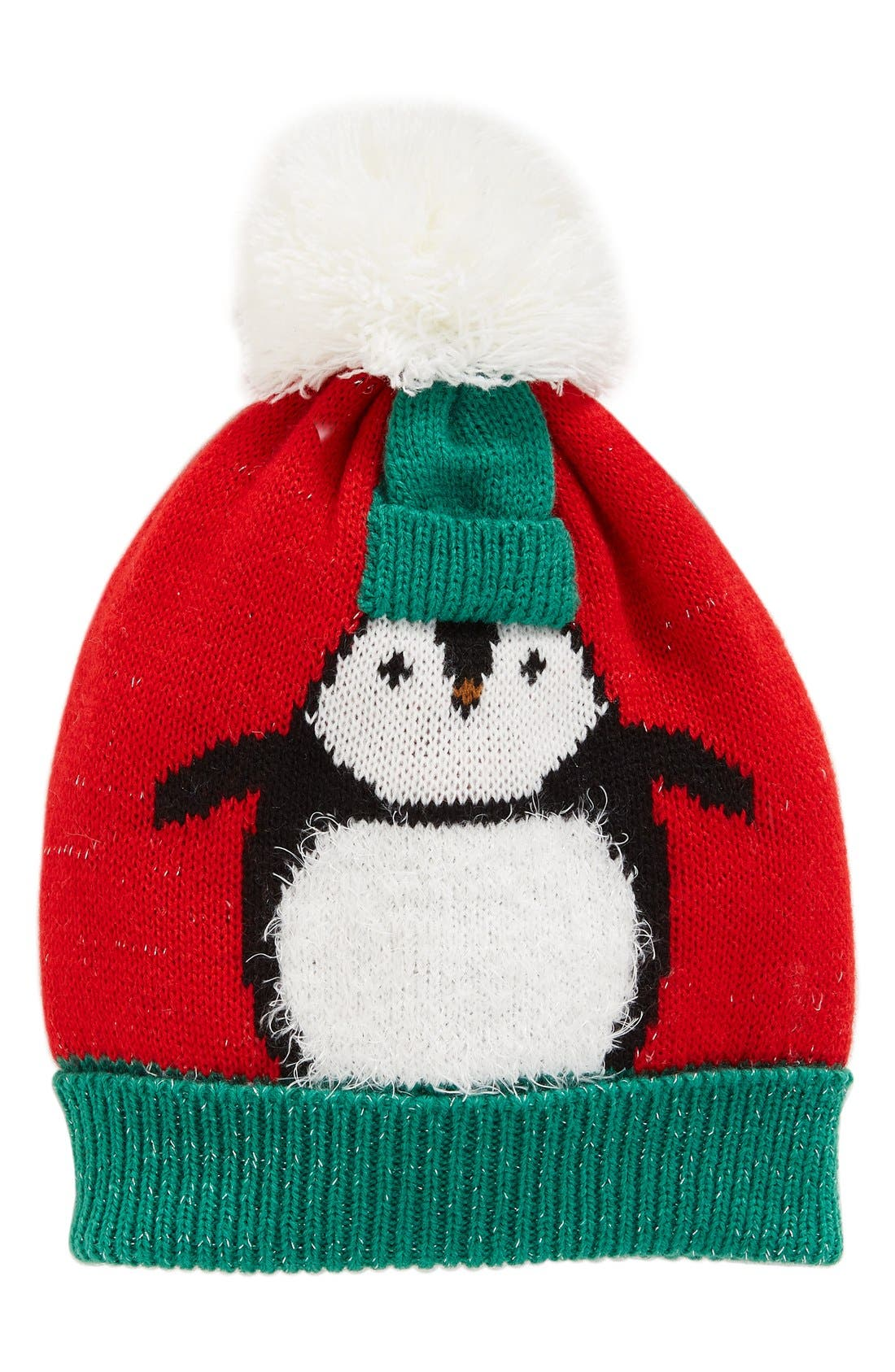 Alternate Image 1 Selected - Collection XIIX Chilly Penguin Pom Beanie