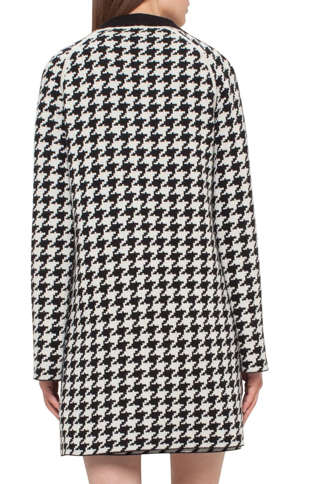 Alternate Image 2  - Akris Reversible Houndstooth Double Face Cashmere Coat