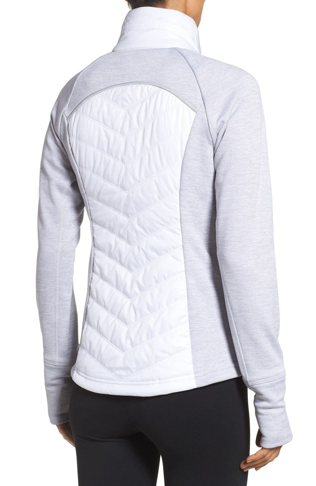 Alternate Image 2  - Zella Zelfusion Reflective Quilted Jacket
