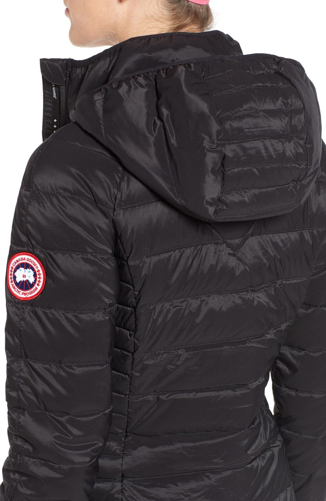 Alternate Image 5  - Canada Goose 'Brookvale' Hooded Quilted Down Coat