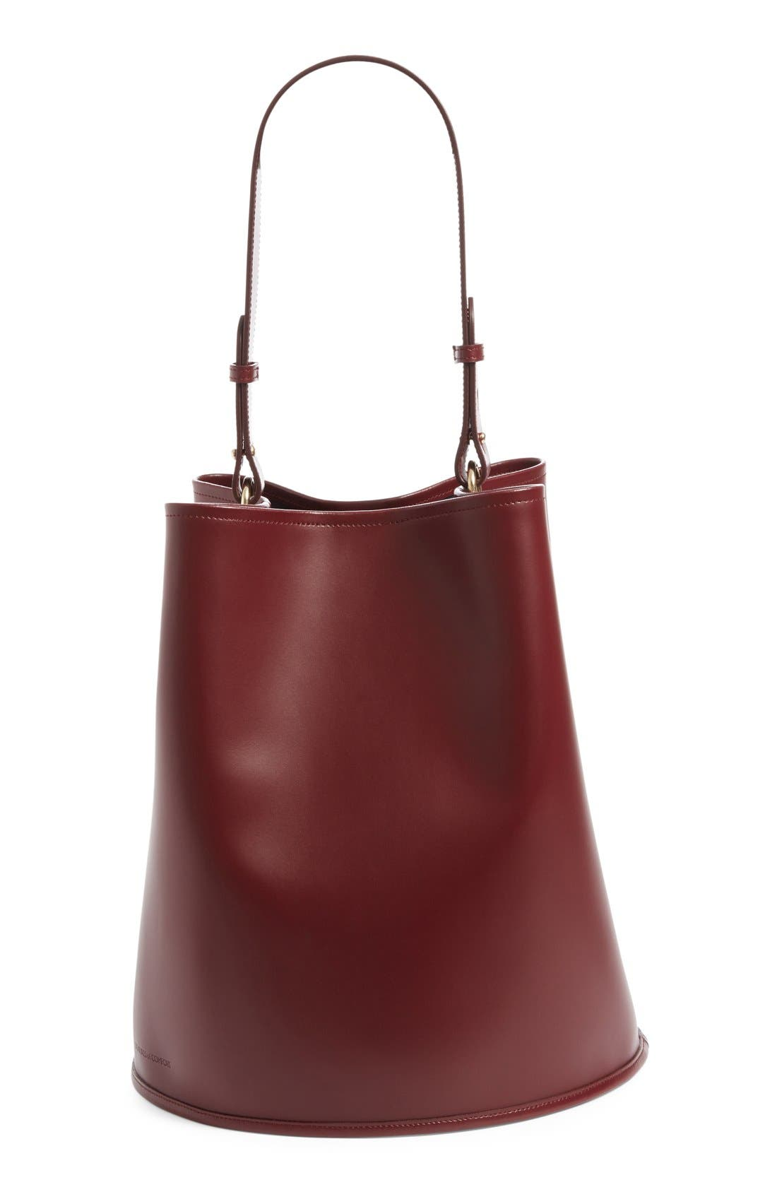 Creatures of Comfort Large Calfskin Leather Bucket Bag