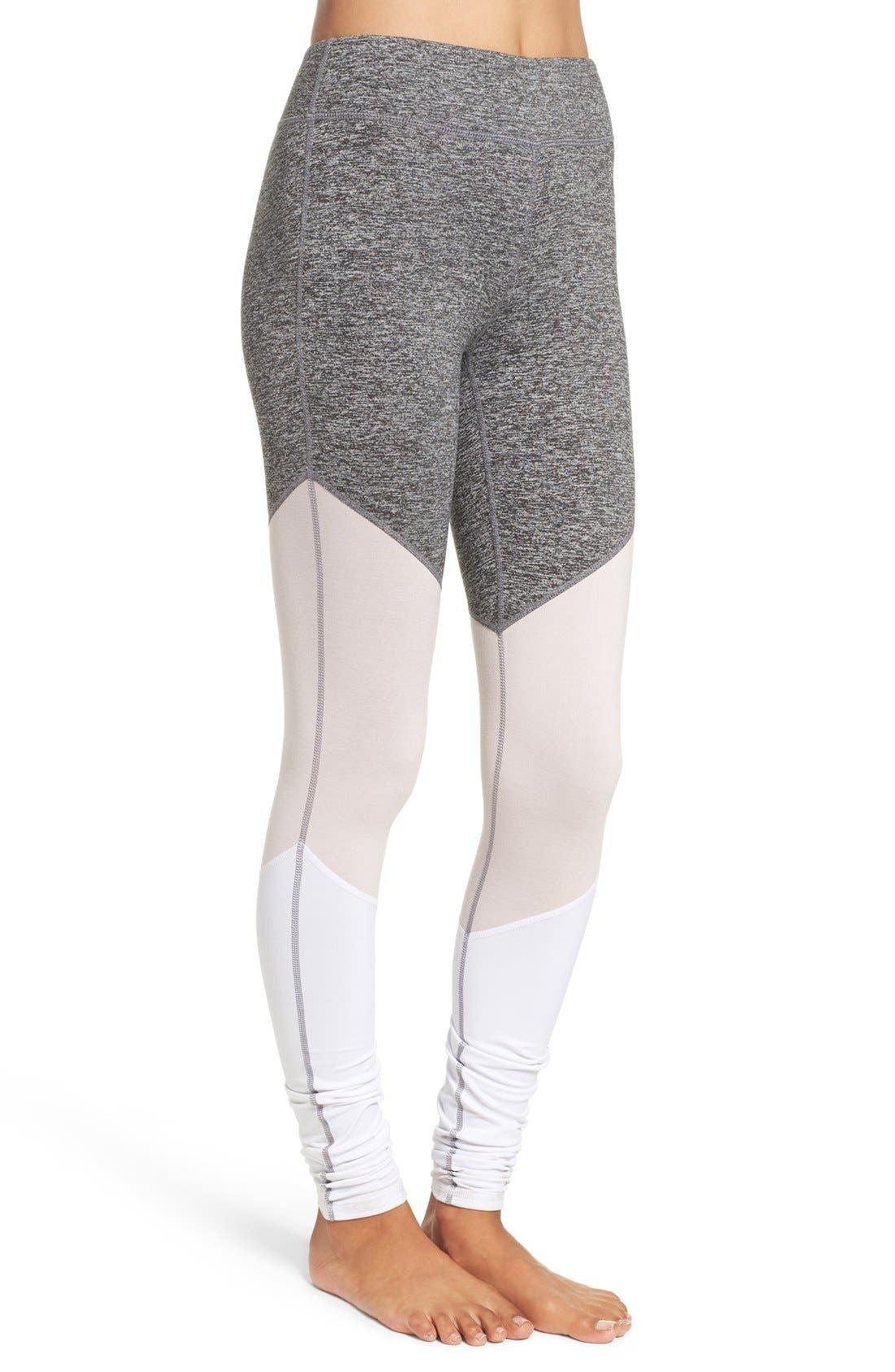 Alternate Image 3  - Free People 'Intuition' High Waist Colorblock Leggings