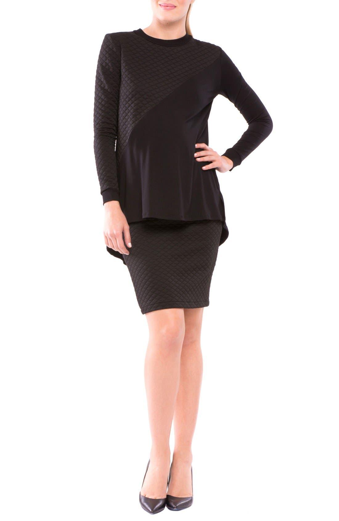 Alternate Image 2  - Olian Adreina Maternity Skirt